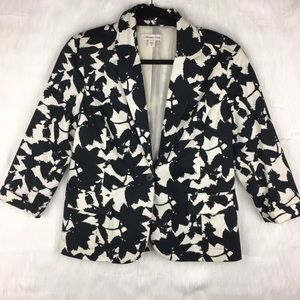 Coldwater Creek Floral Blazer